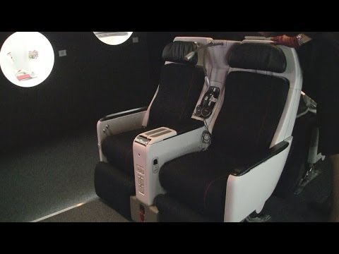 Air France New Premium Economy Seating
