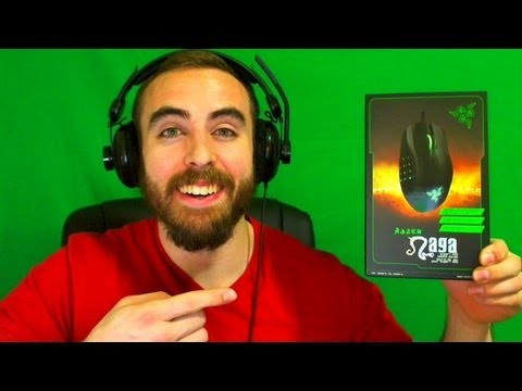 BajheeraVlog - NEW RAZER NAGA REVIEW!!! :D - Youtube. IRL. & Fitness Updates :)