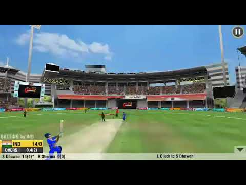 (Offline) Best 3D cricket game in android with t20,test,oneday, worldwide series in play store