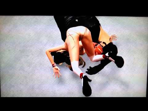 WWE 13 Topless Diva Glitch Jobber Gets Finished.mp4
