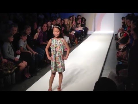 VOGUE Bambini Petite Parade Kids Fashion Week NY Oct. 21, 2012 SWAROVSKI