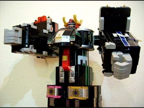 Deluxe Supertrain Megazord (with important announcement before the credits!) - CollectionDX