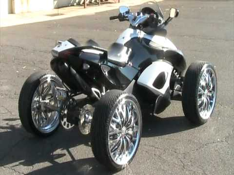4 Wheel Can-Am Spyder,First seen in Meek Millz(Official Rose Red)Video