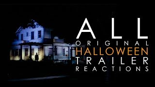 All Original Halloween Movie Trailer Reactions | Michael Myers