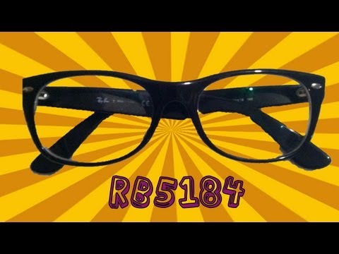 RayBan New Wayfarer RB5184 Optical Glasses Product Review