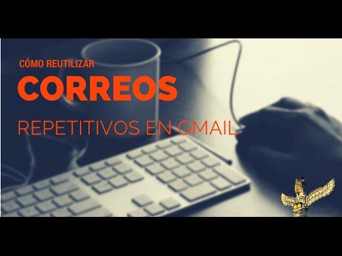 Cómo reutilizar tus correos repetitivos en GMail