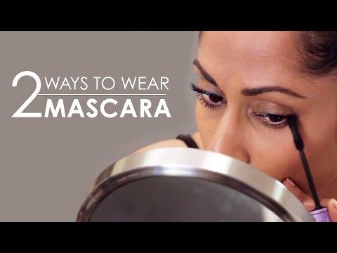How To Wear Mascara Like A Pro   2 Ways