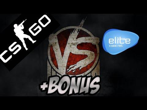 Открытие кейсов в CS и EliteCase + BONUS