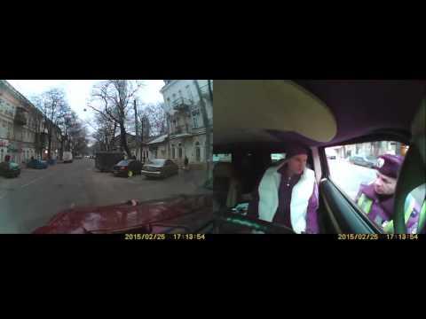 Одесский инспектор ГАИ читает стихи  Приколы ДПС