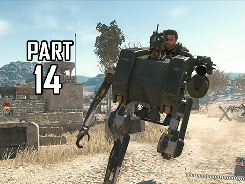 Metal Gear Solid 5 The Phantom Pain Walkthrough Part 14 - Walker Gears' ( MGS5 Let's Play)