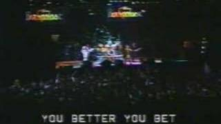 Клип The Who - You Better You Bet