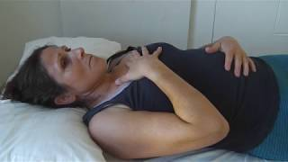 Diaphramatic or Belly breathing to improve breathing technique & relieve anxiety