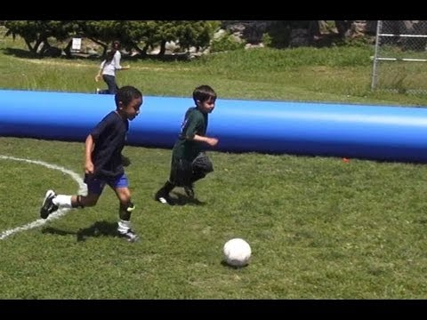 Manchester City vs. Liverpool. Highlights of epic soccer match between 5 year olds
