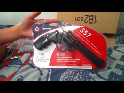 Crosman 357 pistol and 760 pumpmaster review part 1