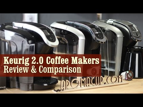 Keurig 2.0 Coffee Makers with Carafe   Review & Comparison - K300 vs K400 vs K500 Series