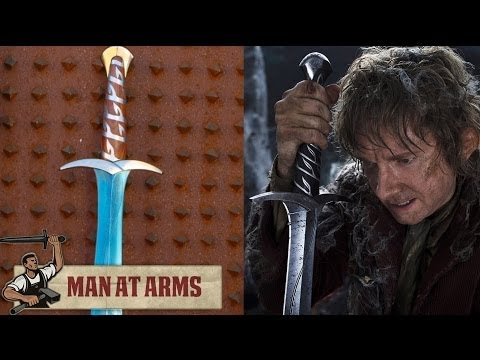 Bilbo s Sting (The Hobbit) Feat. Vsauce2 - MAN AT ARMS