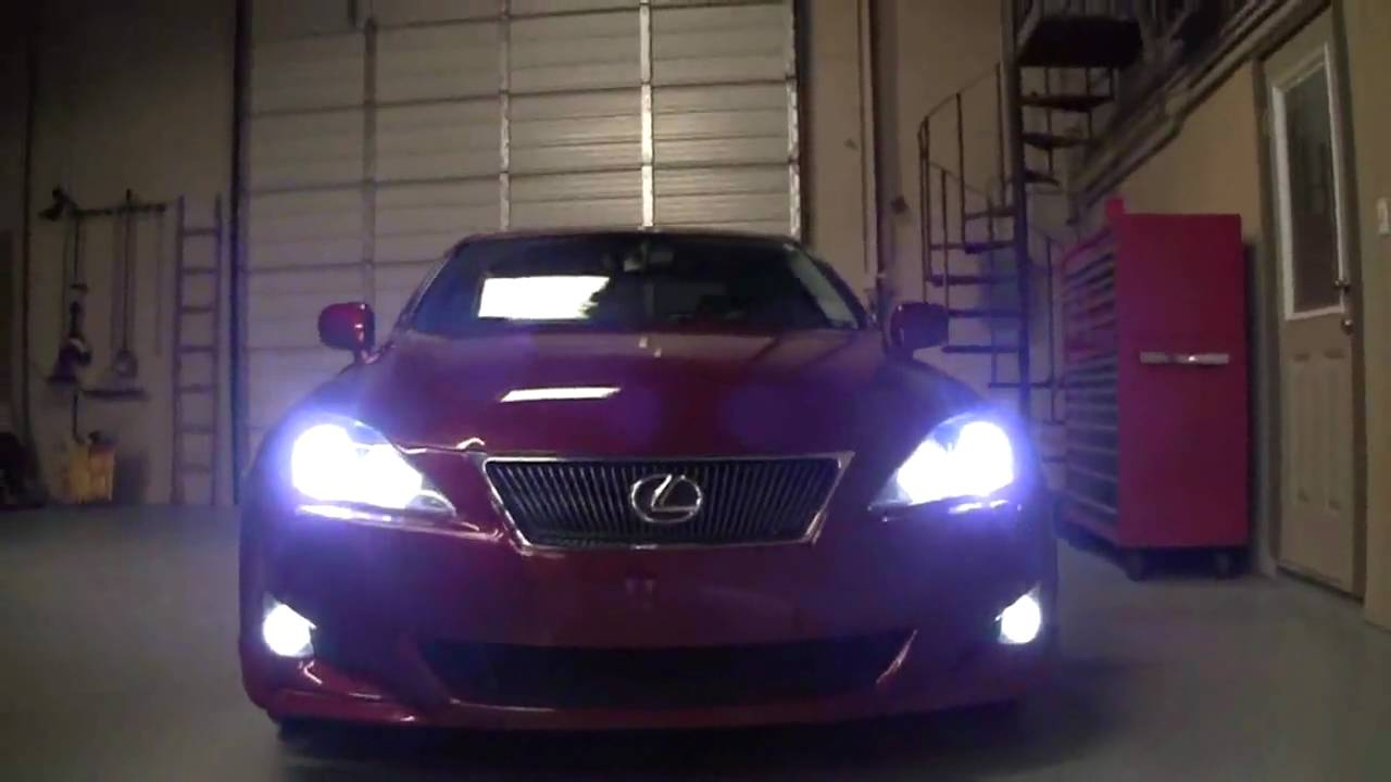 Lexus Is250 Custom Lighting By Advanced Automotive