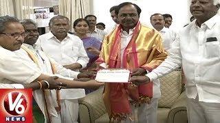 Deputy CM Kadiyam Srihari Invites CM KCR For Medaram Jatara | Warangal