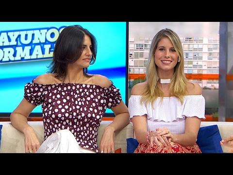 Virginia Ramos y Natalie Yoffe en Desayunos Informales