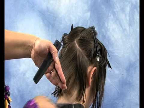 Уроки для начинающих парикмахеров - видео