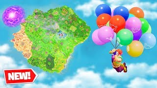 wtf happened to FORTNITE (new balloons)