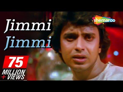 Jimmy Jimmy Ajaa Ajaa - Mithun Chakraborty - Item Girl - Disco Dancer - Bollywood Hit Songs - Mia video