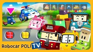 POLI Game | Experience different jobs! | for Kids | Robocar POLI