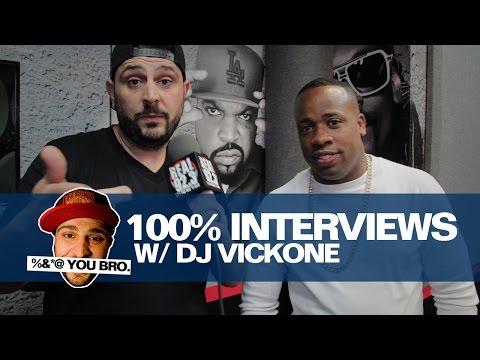100% INTERVIEWS W/ DJ VICK ONE AND YO GOTTI!!!