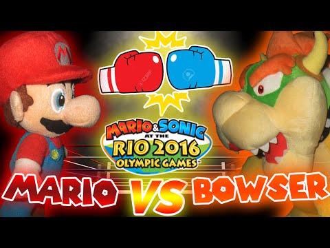 ABM: Mario Vs Bowser!! BOXING!! Mario & Sonic Rio Olympic Games!! HD