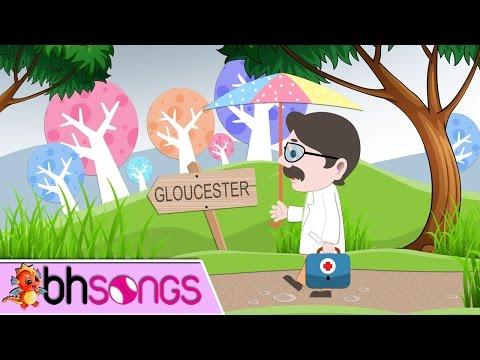 Doctor Foster   Nursery Rhymes   Top Kids Songs [ Lyrics Music 4K ]