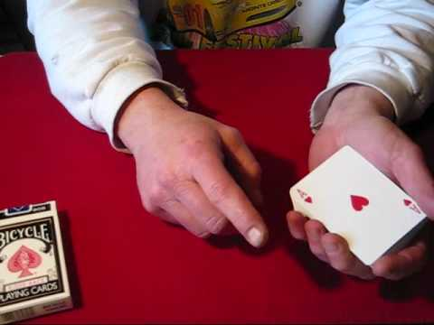 Card Trick Magic Tutorial: The Erdnase Top Color Change