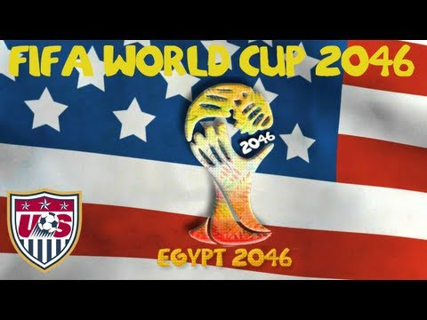 FM13: World Cup 2046 with USA: Game 1 vs Senegal
