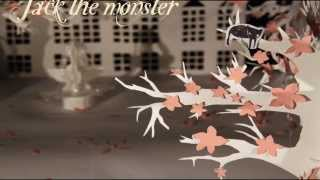 Jack the Monster - Paper pop-up Animation (Stop Motion)