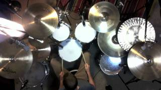 MuteMath-Blood Pressure Drum Cover-Johnkew