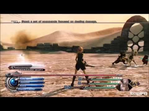 FINAL FANTASY XIII-2 ARMORED LIGHTNING INFUSION BUILD