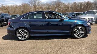 2019 Audi A3 Sedan Lake forest, Highland Park, Chicago, Morton Grove, Northbrook, IL A190905