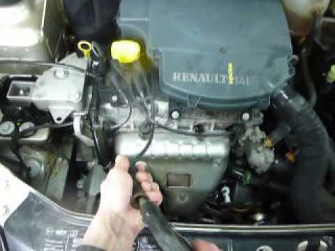 Мойка двигателя своими руками рено логан видео