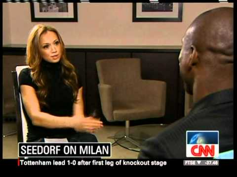 Kate Giles Interviews Clarence Seedorf on CNN