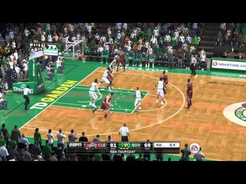 NBA Playoffs 2015 - Cleveland Cavaliers vs Boston Celtics - Post Highlights - NBA LIVE 15 PS4 - HD
