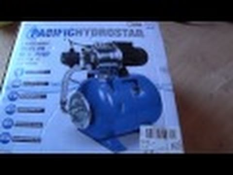 Shallow Well Pump 1HP - Water for RV Living Off the Grid