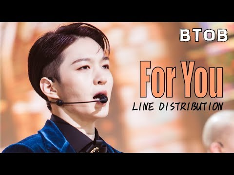 BTOB - For You (Cinderella And Four Knights OST) Line Distribution