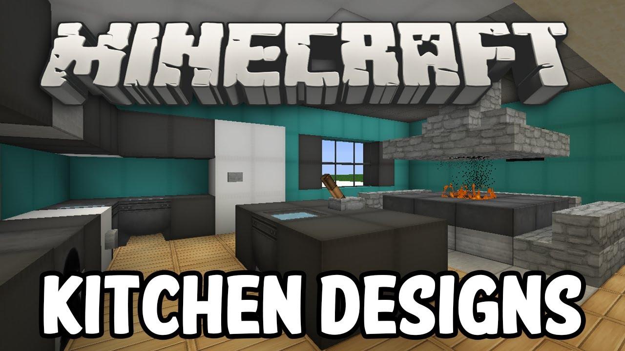 Minecraft interior design kitchen edition youtube for Kitchen ideas on minecraft