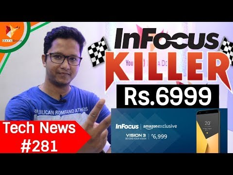 Tech News of The Day #281 - InFocus Vision 3,Mi Fan Sale,Galaxy A8 & A8+,Vodafone itel Offer,Mi A1
