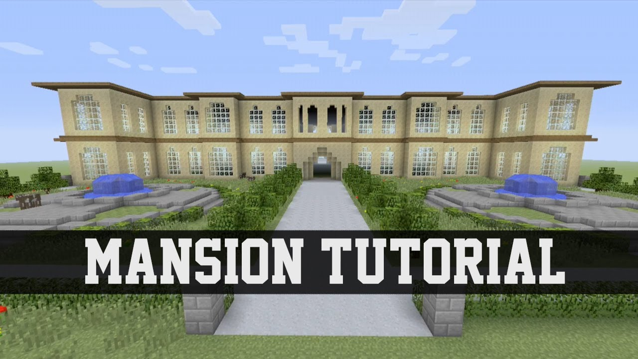 Mansion Tutorial Minecraft Ps3 Xbox 360 1 Youtube