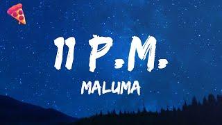 Download lagu Maluma - 11 PM
