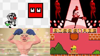 Evolution of Final Boss Games in WarioWare