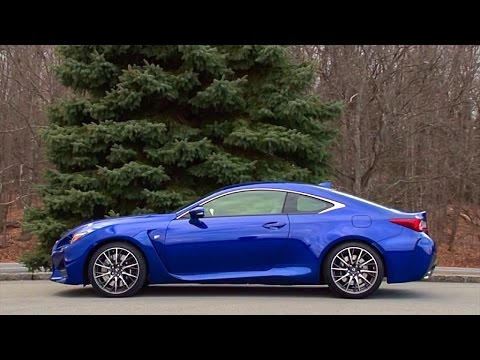 2015 Lexus RC F - TestDriveNow.com Review by Auto Critic Steve Hammes