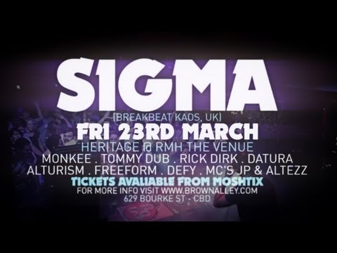 Motion Presents // SIGMA (Breakbeat Kaos/UK) // NO7HINK [HD]