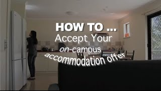 How to accept your accommodation offer @ Curtin Uni