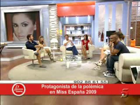 Alejandra Echevarria,segunda dama de honor Miss España 2009